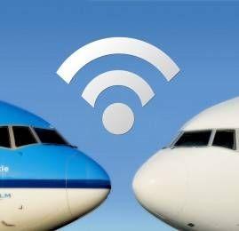 Air France e KLM irão instalar wifi nos seus aviões
