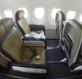 Classe Executiva da South African no A320 – Johannesburgo para Maputo