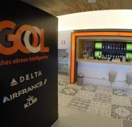 Sala VIP Doméstica GOL Premium Lounge – Aeroporto de Guarulhos (GRU)