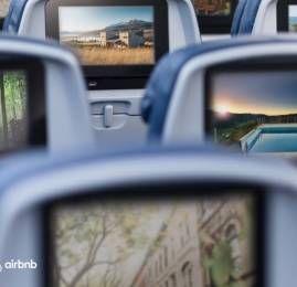 Parceria entre Delta e Airbnb permitirá acumular milhas em hospedagens