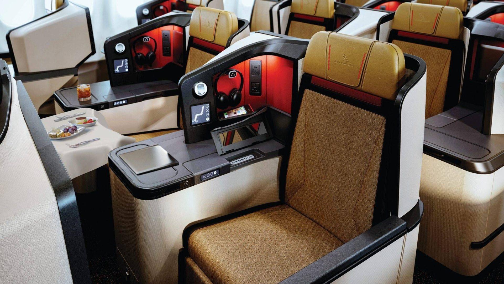 South African Airways apresenta sua nova classe executiva no A330