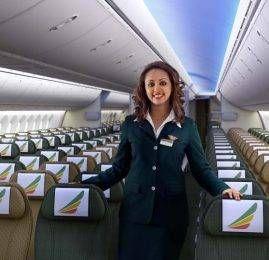 Ethiopian Airlines confirma aumento da frequência de voos no Brasil