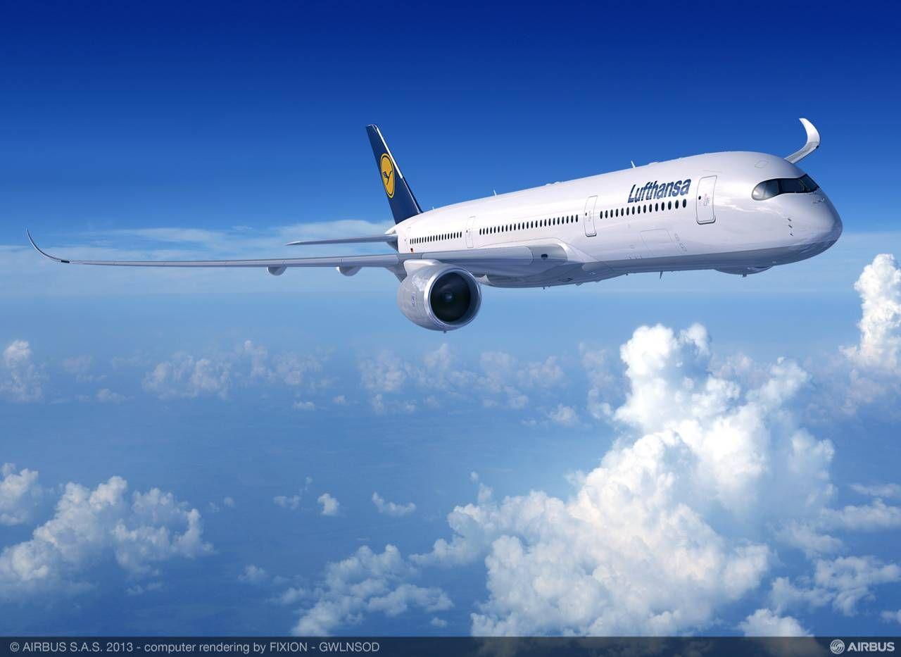 Já é possível comprar passagens para o vôo inaugural do A350 da Lufthansa