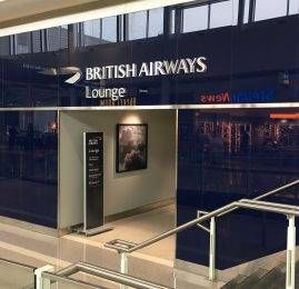 British Airways Galleries Lounge – Aeroporto de Washington (IAD)