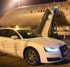 Primeira Classe da Etihad Airways no B787-9 – Abu Dhabi para Zurich