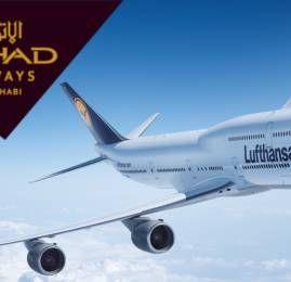 Etihad Airways e Grupo Lufthansa acertam voos em codeshare e arrendamento de aeronaves