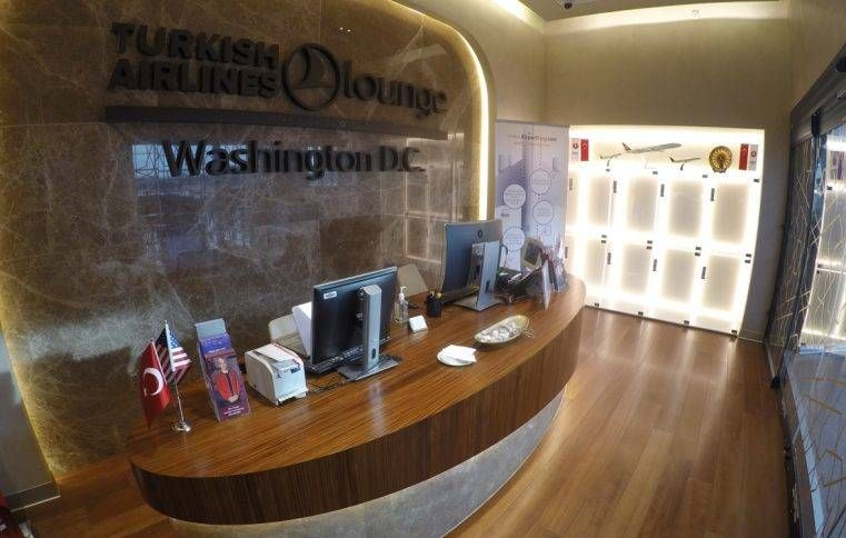 Sala VIP Turkish Airlines Lounge – Aeroporto de Washington (IAD)