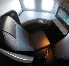 Classe Executiva da Air Canada no B77L – Vancouver p/ Toronto