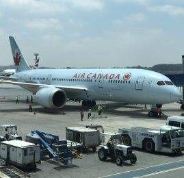 Introdução – Voo inaugural do B787 da Air Canada p/ São Paulo