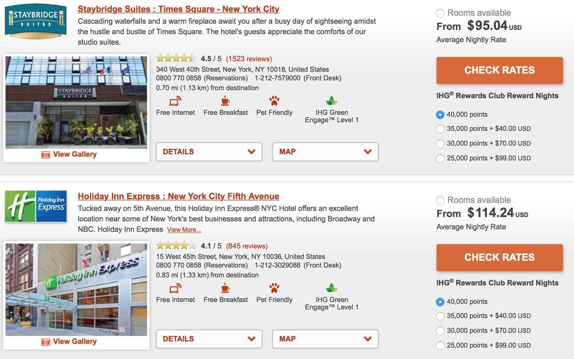 Diversos hotéis com desconto em Nova York para hospedagem em Janeiro