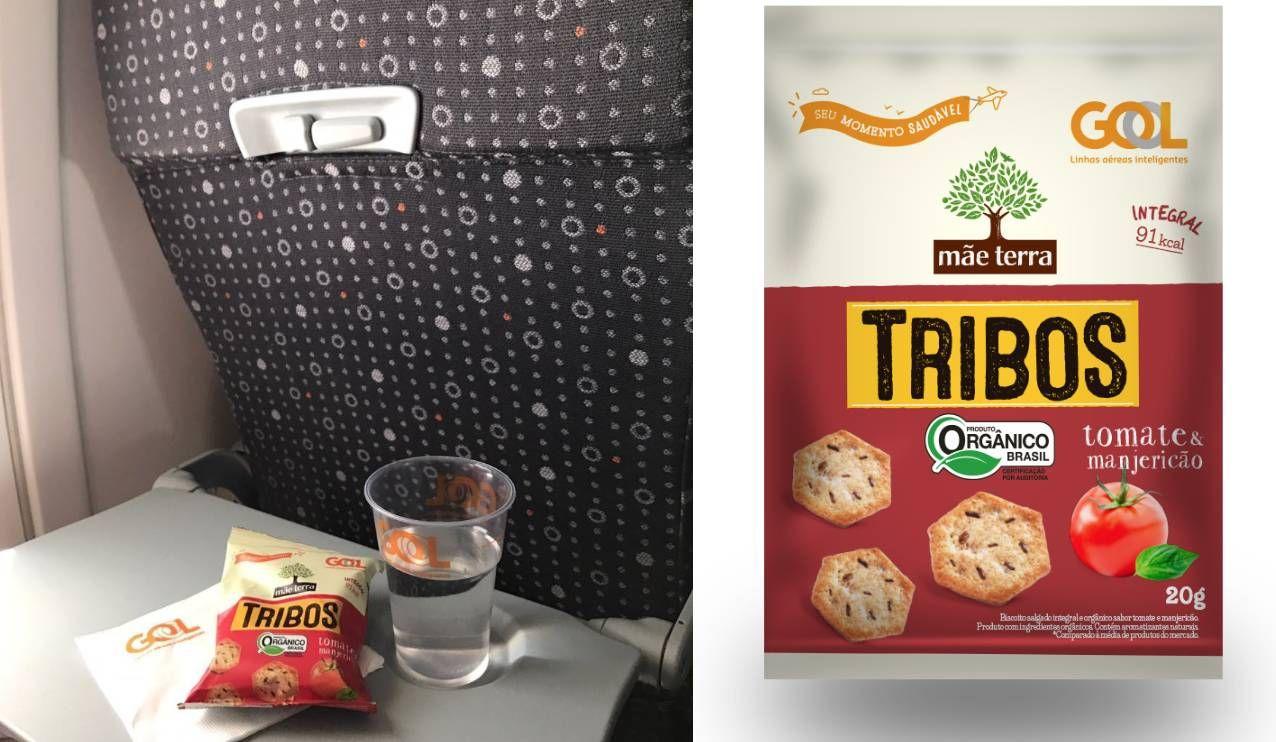 GOL oferece novo sabor de snack no serviço de bordo dos voos nacionais