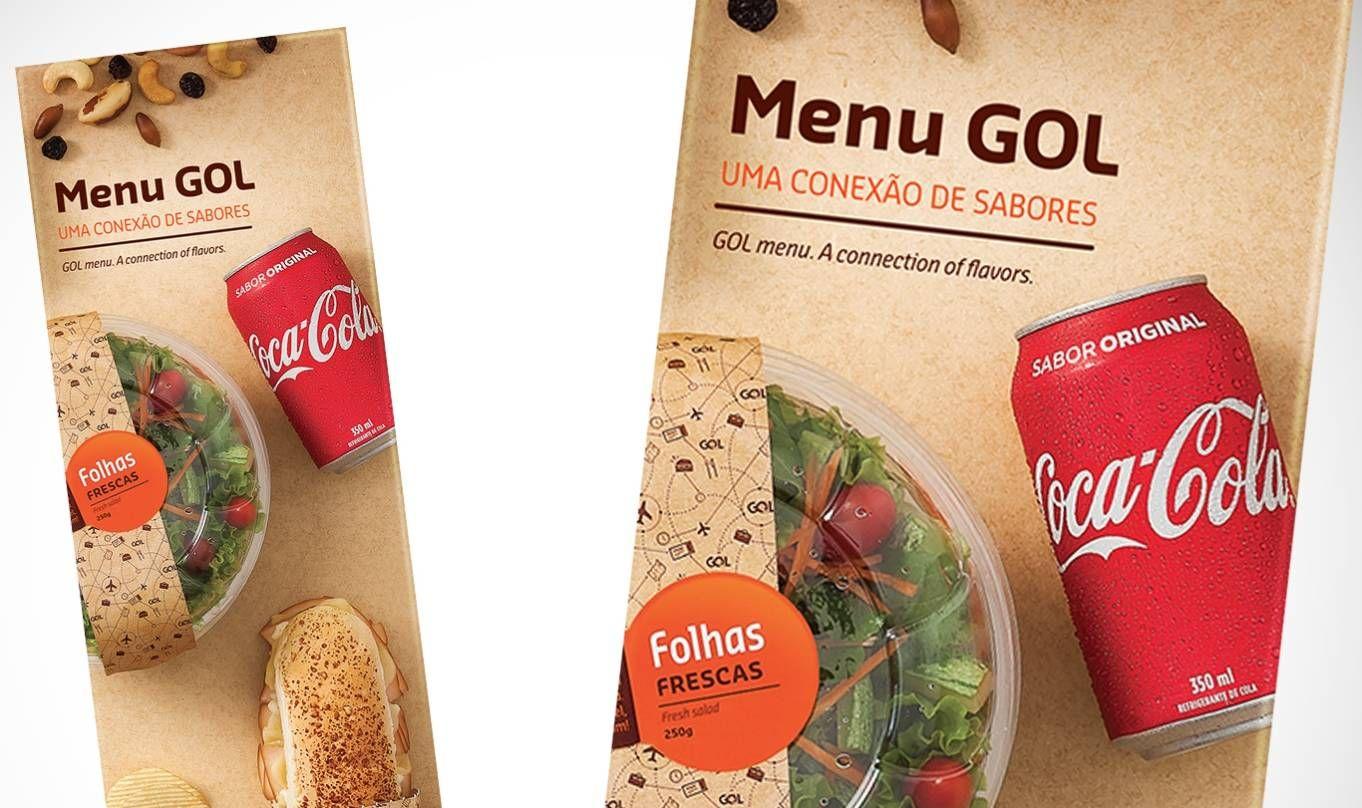 Novo menu da GOL vai ter açaí e strogonoff