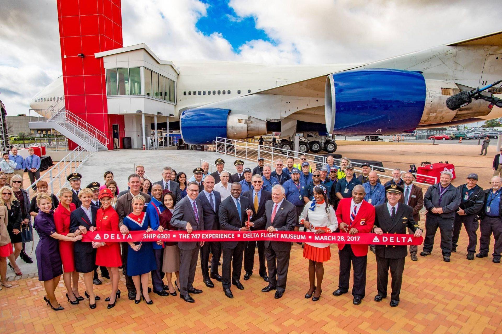 Exposição histórica '747 Experience' é inaugurada no Delta Flight Museum