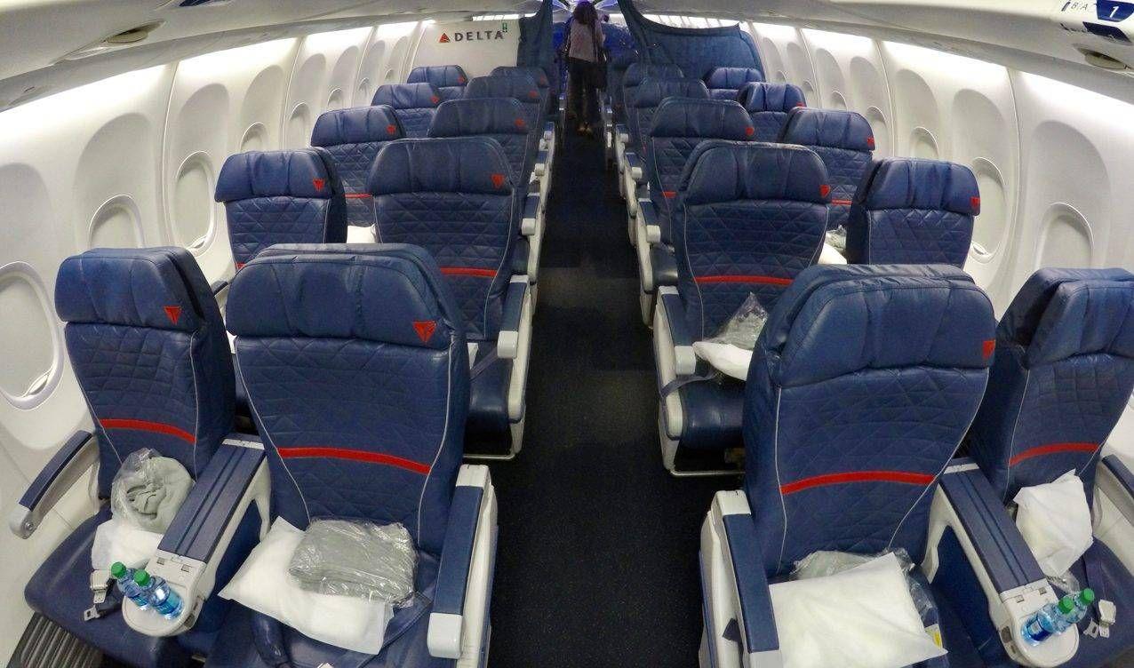 Classe Executiva da Delta no B737-900ER – Atlanta p/ Punta Cana