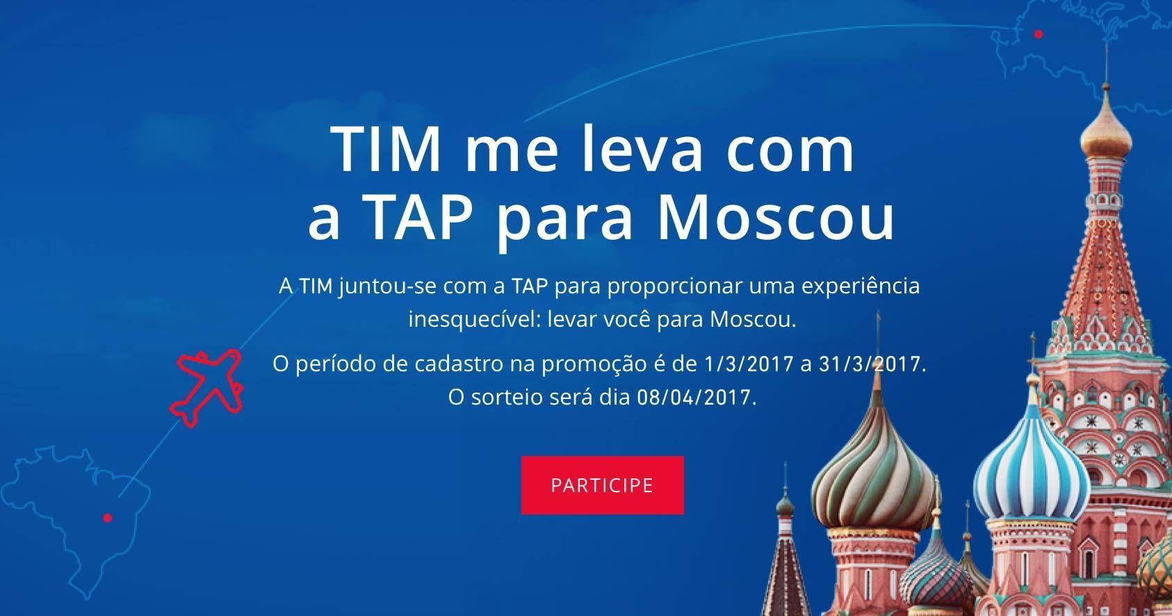 TIM e TAP vão sortear uma viagem para Europa com hospedagem e passagens em classe executiva