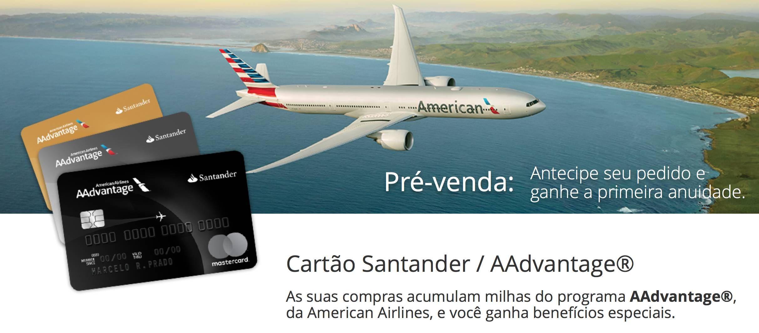 Santander confirma que cartão Black da American Airlines virá com o Priority Pass