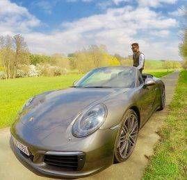 Lufthansa Porsche First Class Excitement – Aluguel cortesia de um Porsche p/ passageiros da Primeira Classe