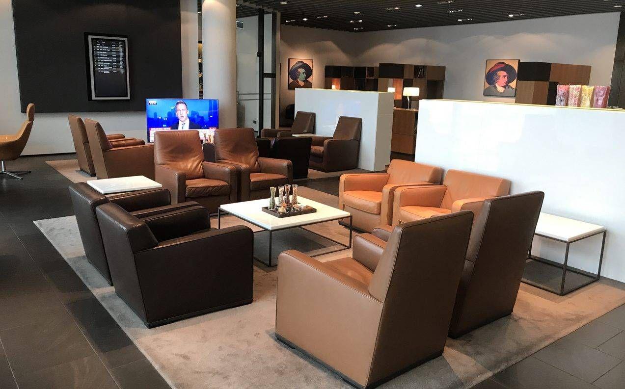Sala VIP Lufthansa First Class Lounge – Aeroporto de Frankfurt (FRA)