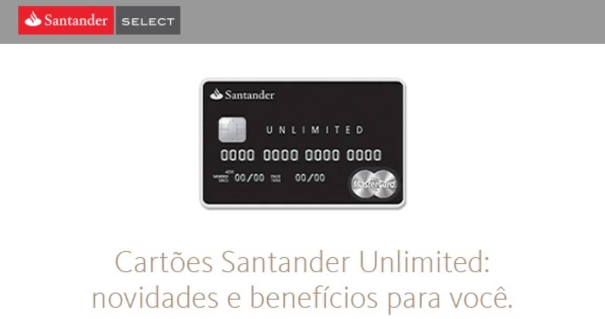 Santander Unlimited com anuidade gratuita. Mas preciso gastar quanto por mês?!?