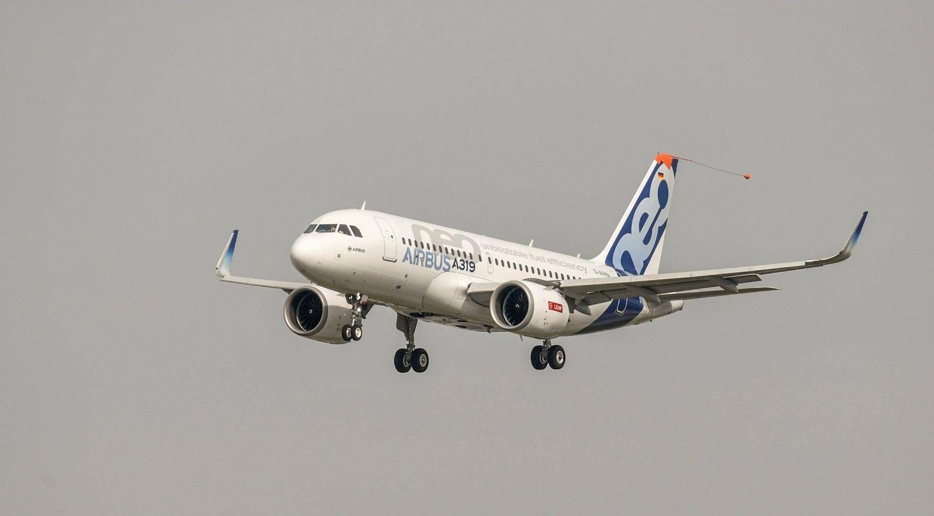 Primeiro Airbus A319neo levanta voo