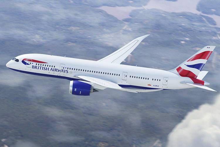 British Airways vai usar o moderno B787 na rota entre Londres e Rio de Janeiro