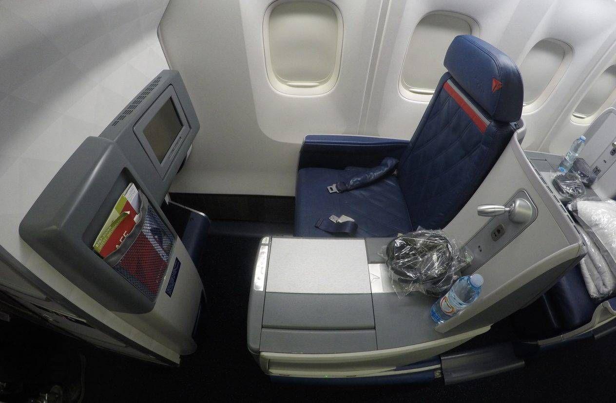 Classe Executiva da Delta no B767-300 – São Paulo p/ Nova York