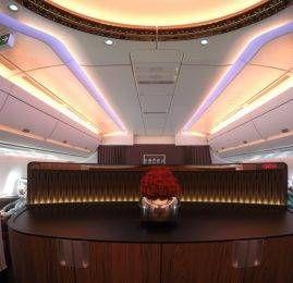 Qatar Airways voará para o Rio com o moderno A350-900 a partir de Janeiro