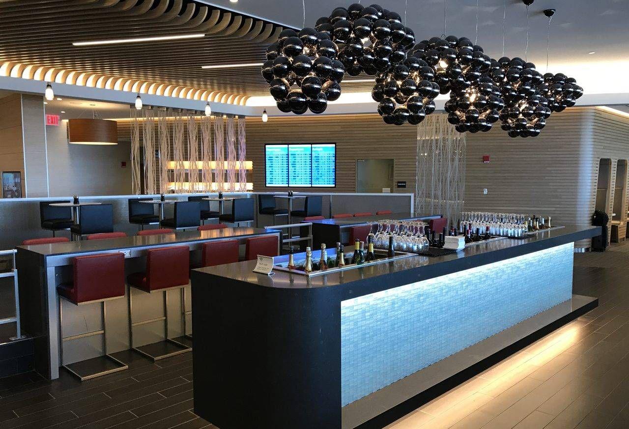 American Airlines Flagship Check-in e Lounge – Aeroporto de Nova York (JFK)