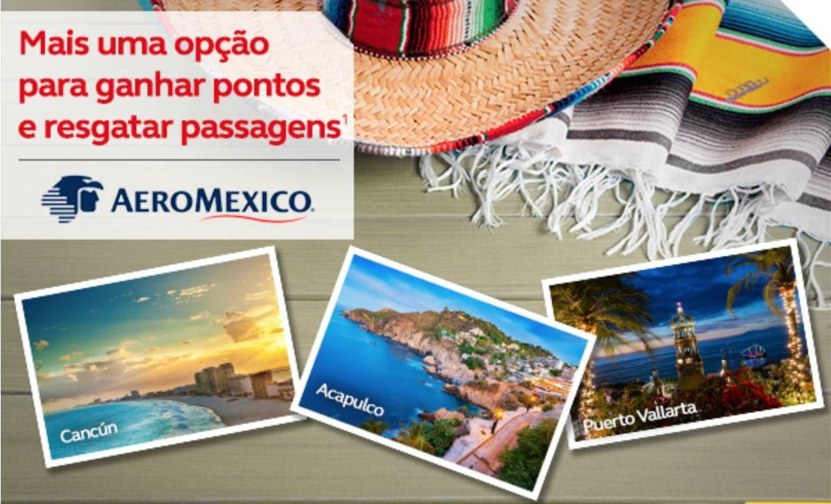 Programa Amigo da Avianca anuncia parceria com a Aeromexico