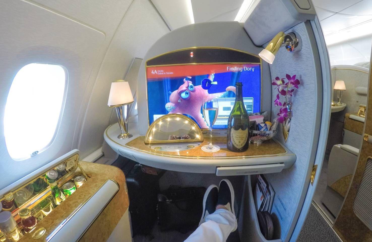 Emirates anuncia nova primeira classe, classe executiva e econômica nos B777