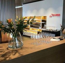 Sala VIP Swiss First Class Lounge (Primeira Classe) – Aeroporto de Zurich – Terminal E