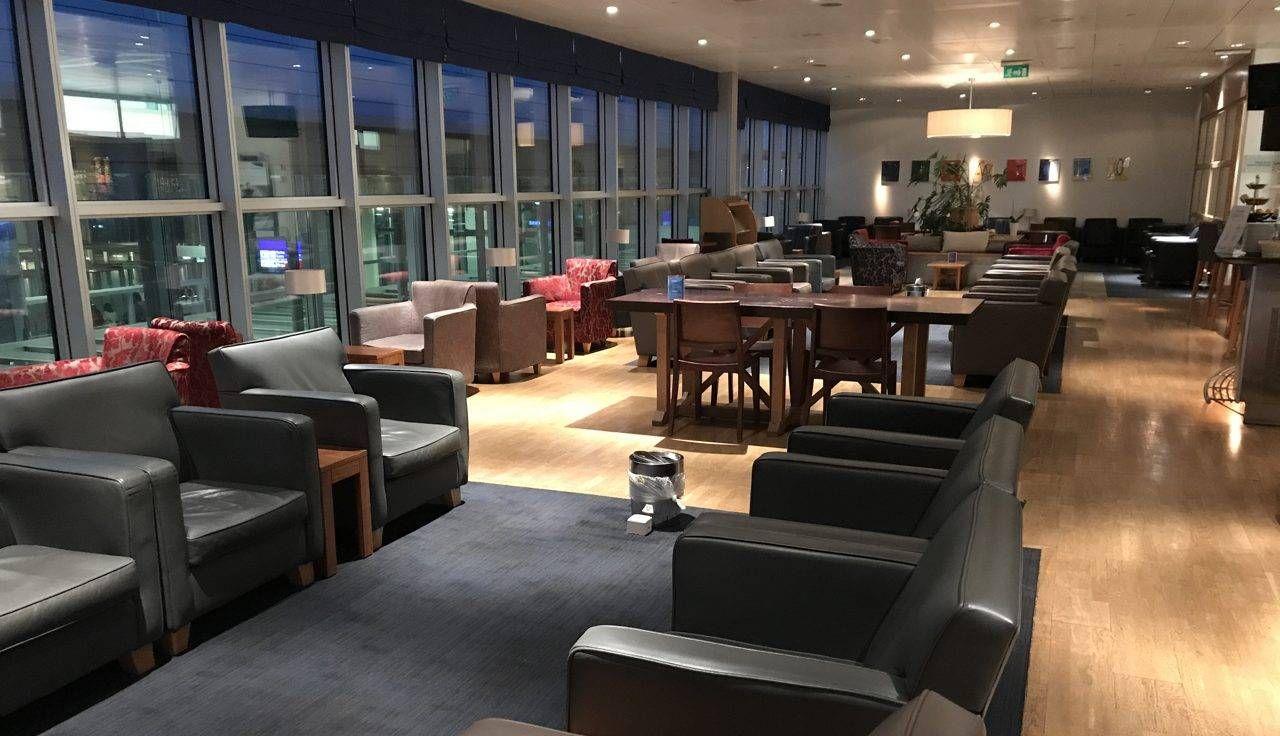 Sala VIP British Airways Galleries Lounge – Aeroporto de Genebra (GVA)