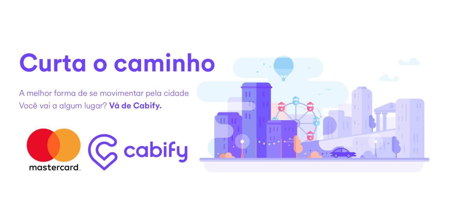 Cabify e Mastercard anunciam parceria e desconto em corridas