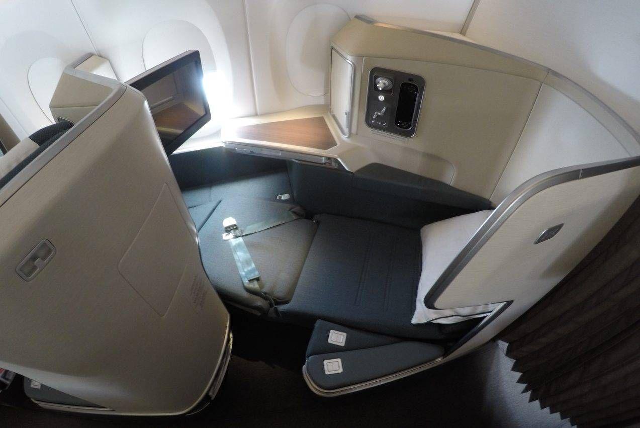 Classe Executiva da Cathay Pacific no A350 – Cingapura p/ Bangkok