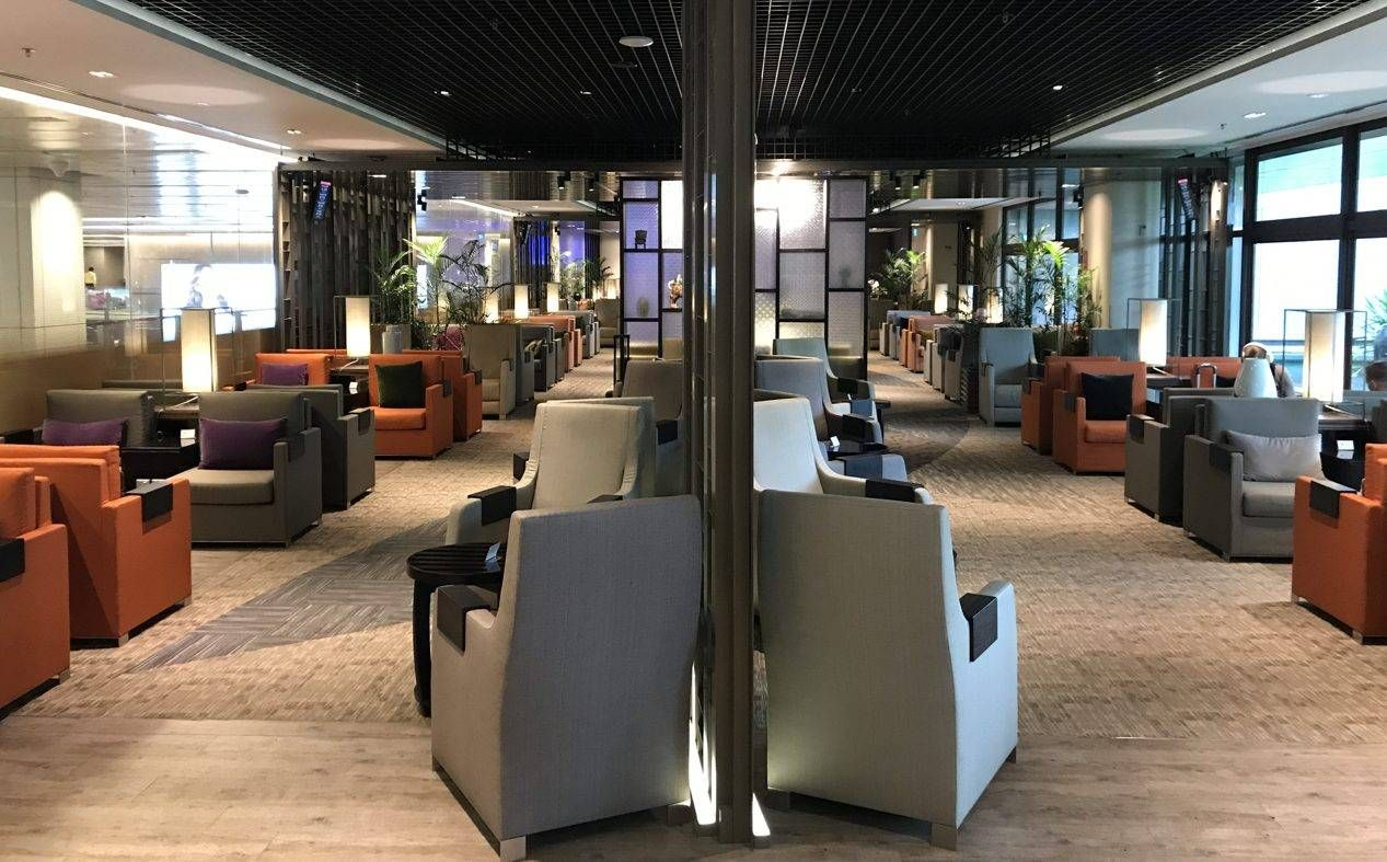 Sala VIP dnata Lounge – Aeroporto de Cingapura (SIN)