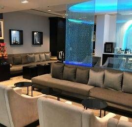Sala VIP Oman Air First and Business Class Lounge – Aeroporto de Bangkok (BKK)
