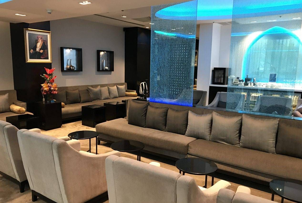 Sala VIP Oman Air First and Business Class Lounge – Aeroporto de Bangkok (BKK)