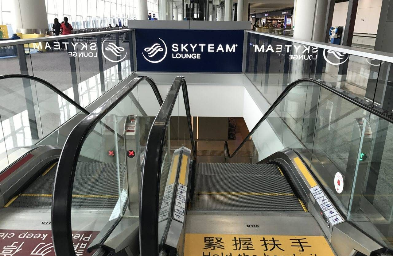 Sala VIP Skyteam Lounge – Aeroporto de Hong Kong (HKG)