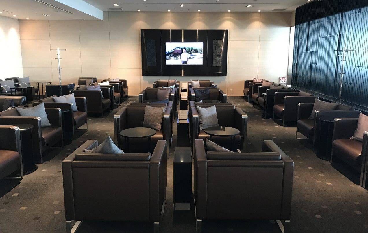 Sala VIP ANA Lounge – Aeroporto de Tokyo (HND)