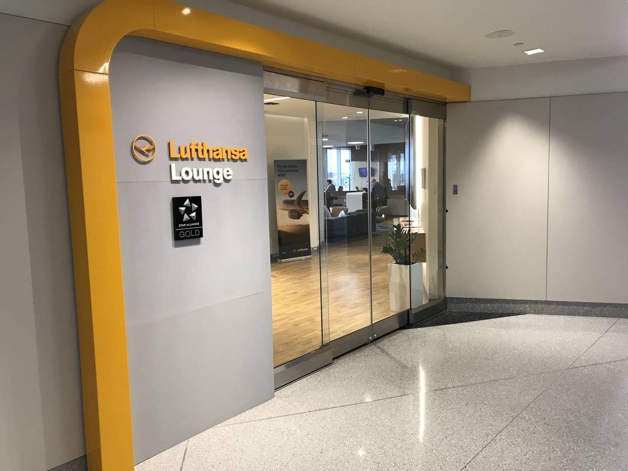 Sala VIP Lufthansa Lounge – Aeroporto de Boston (BOS)