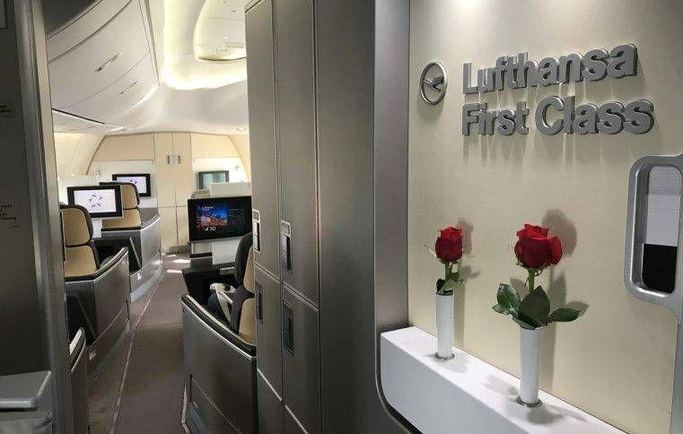 Como emitir Primeira Classe da Lufthansa usando pontos e milhas