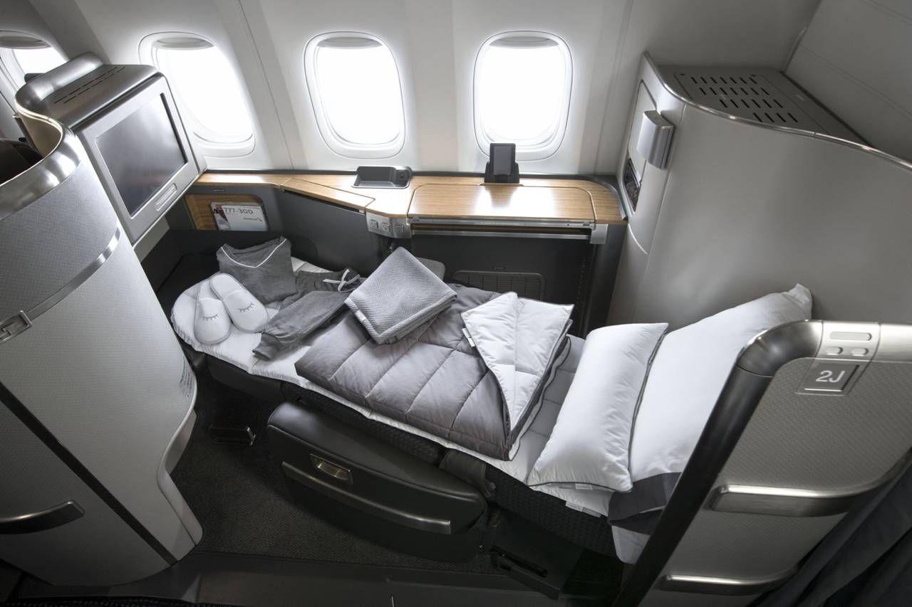 American Airlines terá novas roupas de cama e amenities para melhorar o sono dos passageiros
