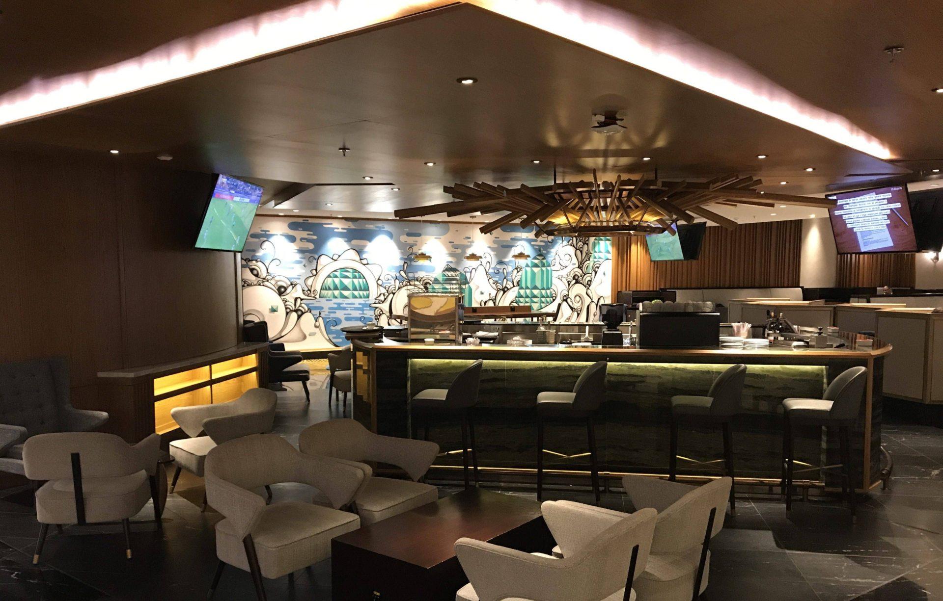 Sala VIP doméstica Plaza Premium Lounge – Aeroporto do Rio de Janeiro (Galeão)