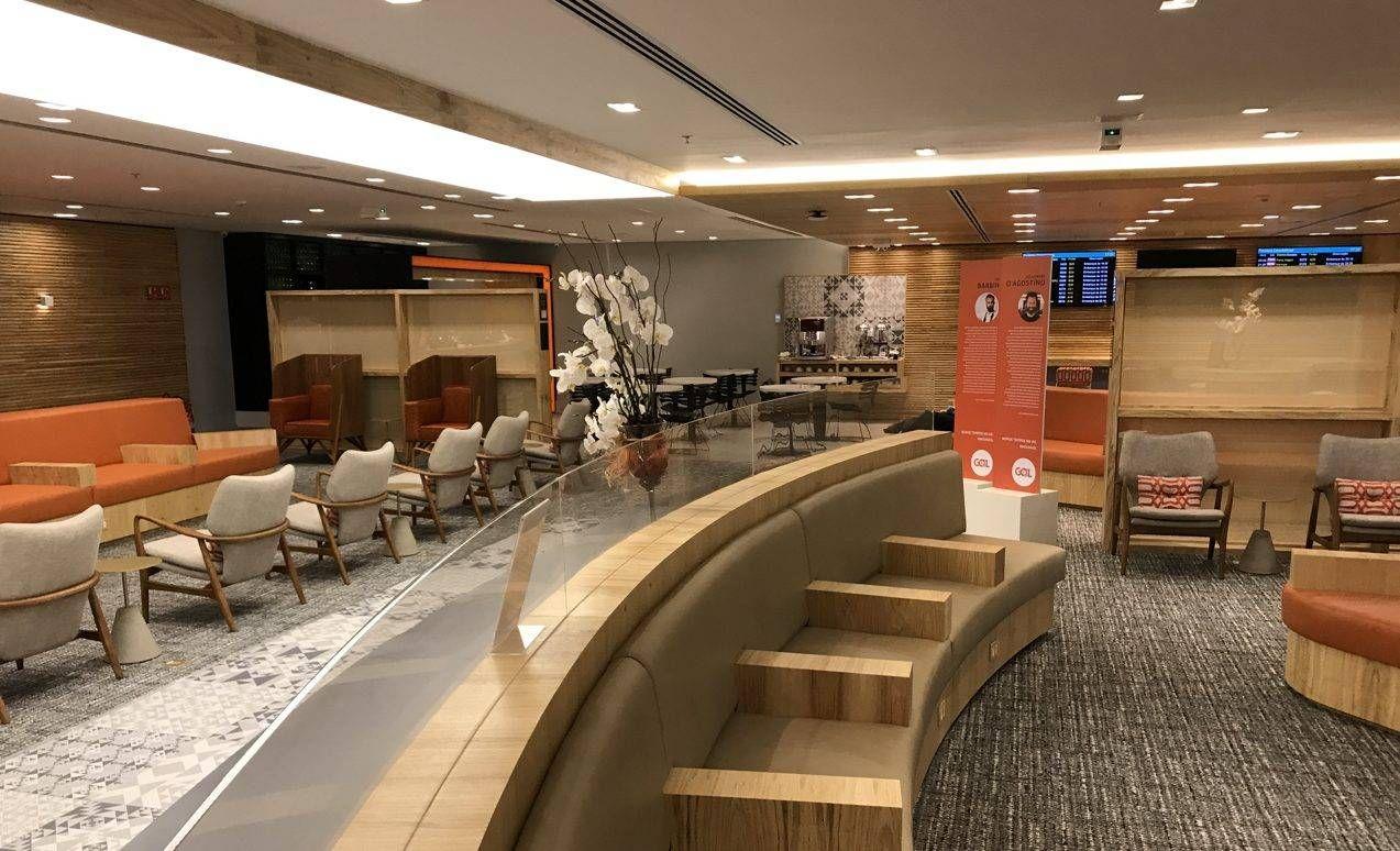 Sala VIP doméstica GOL Premium Lounge – Aeroporto do Rio de Janeiro (Galeão)