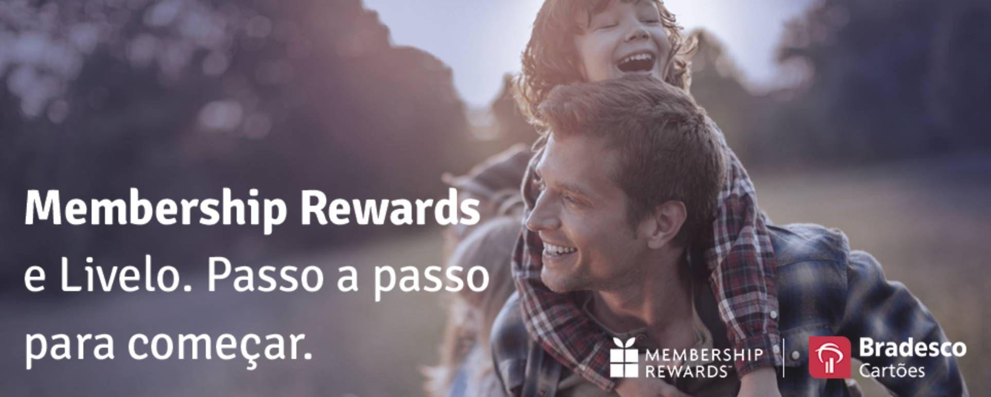 Clientes Membership Rewards já podem transferir seus pontos para a Livelo de forma online