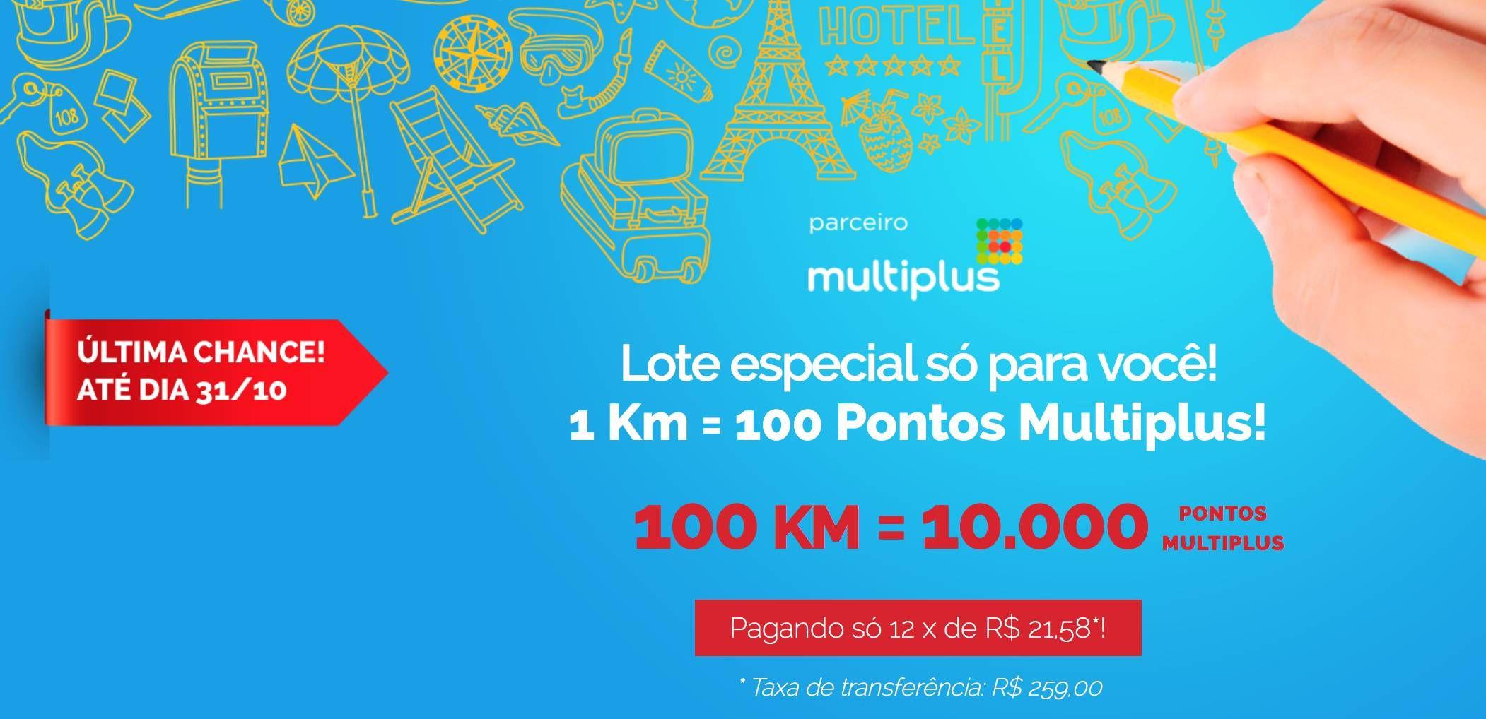 KM de Vantagens começa a liberar para mais clientes lote de transferência promocional p/ Multiplus