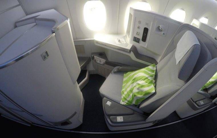 Classe Executiva da Finnair no A350 – Londres (LHR) p/ Helsinki (HEL)
