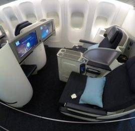 Classe Executiva da Kuwait Airways no B777 – Kuwait p/ Frankfurt