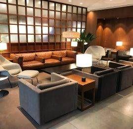 Sala VIP Cathay Pacific Lounge – Aeroporto de Londres (LHR) T3