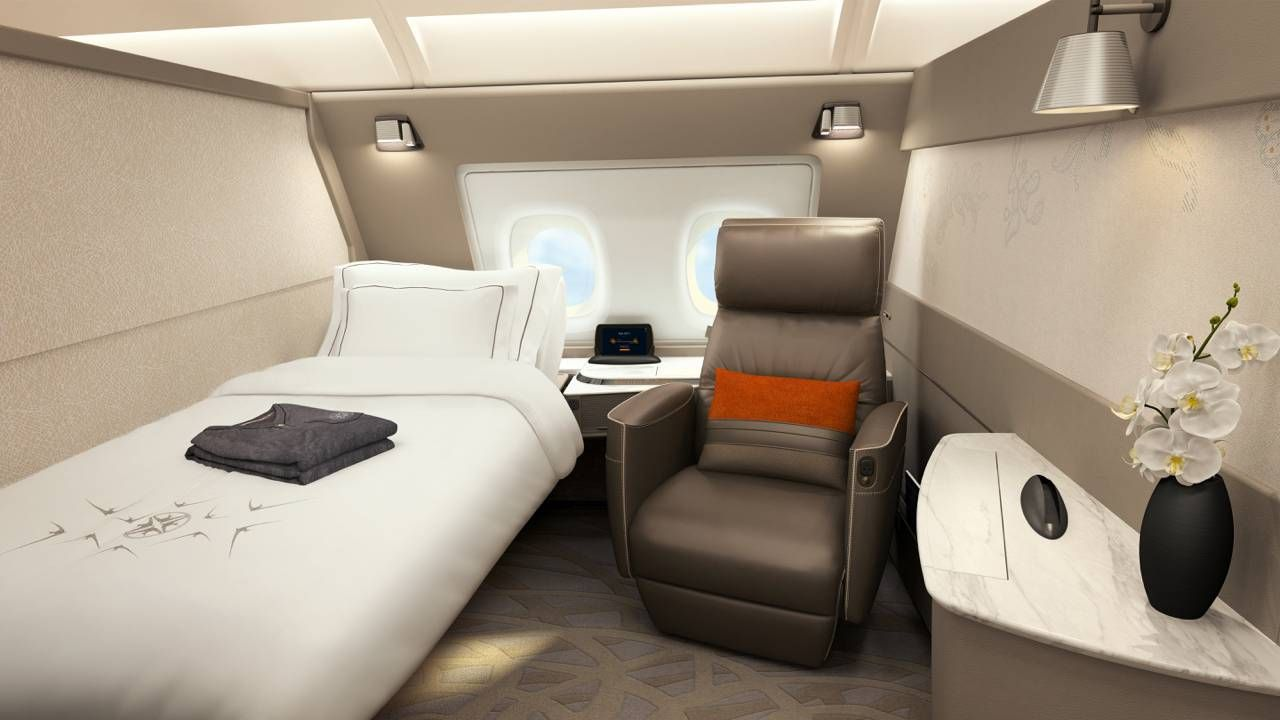 Singapore Airlines apresenta suas novas Suites e Classe Executiva no A380